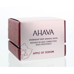Ahava Über Nacht tiefe Faltenmaske 50 ml