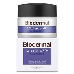 Biodermal Nachtcreme gegen Alter 50+ 50 ml