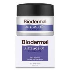 Biodermal Nachtcreme gegen Alter 60+ 50 ml