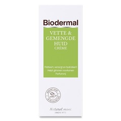 Biodermal Fettige & Mischhautcreme 50 ml