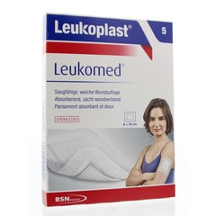 Leukoplast Leukomed 8,0 x 10 cm steril 5 Stk