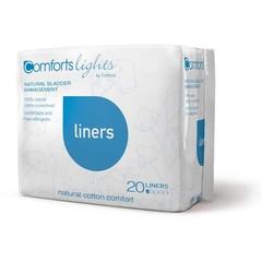Comforts Light Leichte Slipeinlagen 20 Stk