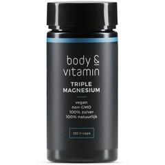 Body & Vitamin Dreifache Magnesium 120 Vcaps