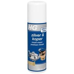 HG Niemals 200 ml Silber / Kupfer bürsten