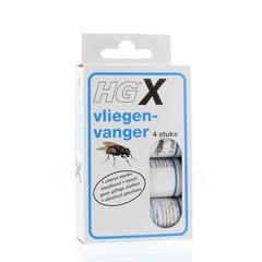 HG X Fliegenfänger 4 Stk