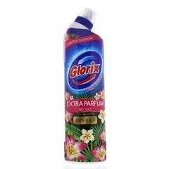 Glorix WC Powergel rosa Blume 750 ml