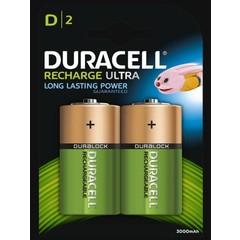 Duracell Wiederaufladbar D HR20 2 Stck