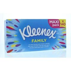 Kleenex Familienschachtel Taschentücher 140 Stk