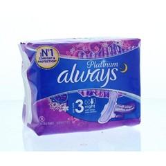 Always Damenbinde Platin Ultra Nacht 8 Stk