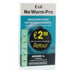 Exil Kein Wurm Pro Hund L 4 Tabletten