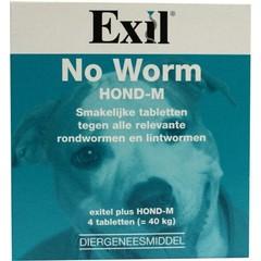 Exitel Kein Wurm Hund Medium 4 Tabletten