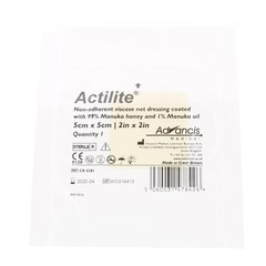 Advancis Actilite Manuka non adh. Netzverband Viskose 5 x 5 1 Stck
