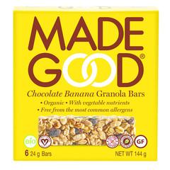 Made Good Müsliriegel Schokoladenbanane 24 Gramm 6 Stück