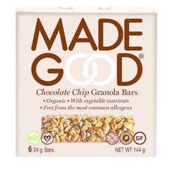 Made Good Müsliriegel Schokoladenstückchen 24 Gramm 6 Stück