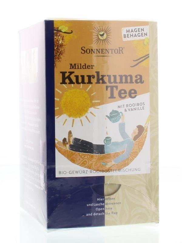 Sonnentor Sonnentor Milder Kurkuma Tee Bio 18 Beutel