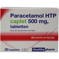Healthypharm Paracetamol Caplet 500 20 Tabletten