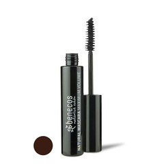 Benecos Mascara glatt braun maximales Volumen 8 ml