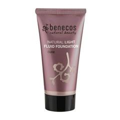 Benecos Foundation Light Fluid natürliche Foundation Düne 30 ml