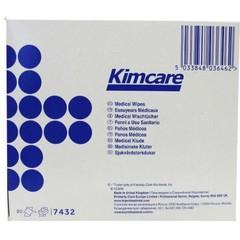 Kimcare Medizinische Tücher 12 x 22 cm 80 Stück