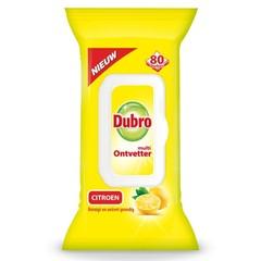Dubro Wischt Multi Entfetter Zitrone 80 Stück