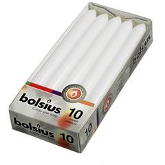 Bolsius Abendkerze 230/20 weiß 10 Stk