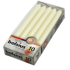 Bolsius Abendkerze 230/20 Elfenbein 10 Stk