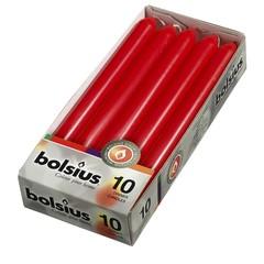 Bolsius Abendkerze 230/20 rot 10 Stk