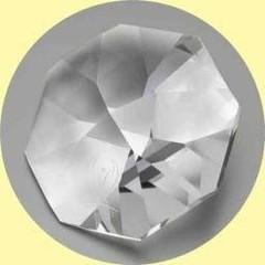 Anwesend sein Kristall 60 mm 1 Stk