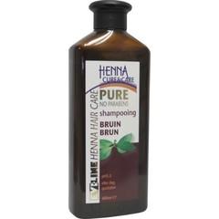 Shampoo rein braun 400 ml
