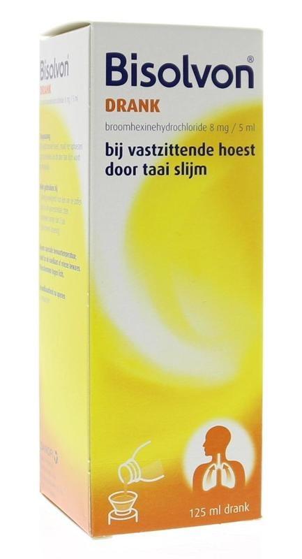 Bisolvon Bisolvon Getränk 8 mg / 5 ml 125 ml