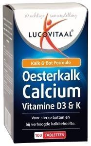 Lucovitaal Lucovitaal Lucovital Oyster Kalk Kalziumtabletten 100 Tabletten