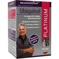 Mannavital Mannavital Ubiquinol Platin 60 Kapseln.