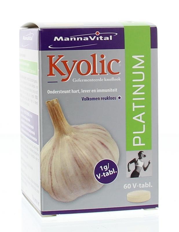 Mannavital Mannavital Kyolic Platin 60 Tabletten