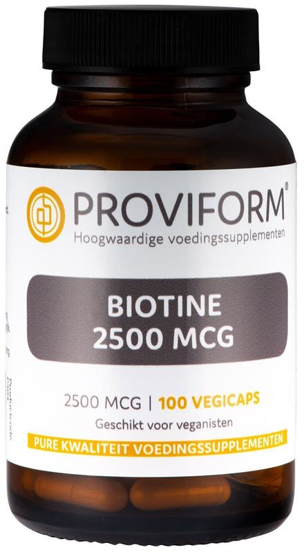 Proviform Proviform Biotin 2500 mcg (100 vcaps)