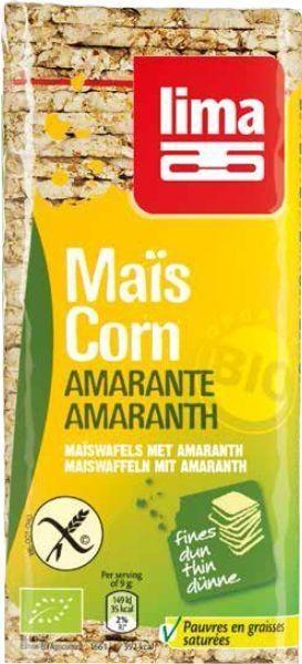 Lima Lima Corn Waffel Amaranth dünn 130 Gramm