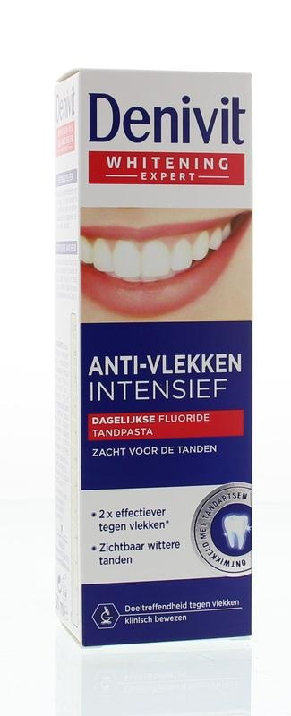 Denivit Zahnpasta Anti-Flecken intensive Zahnaufhellung 50 ml