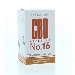 Cannamedic CBD Capsules nr 16 6 mg 50 Kapseln.