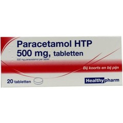 Paracetamol 500 mg 20 Tabletten