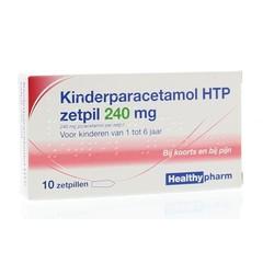 Paracetamol Kinder 240 mg 10 Zäpfchen