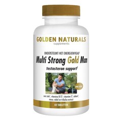 Multi Strong Gold Mann Testosteron Support