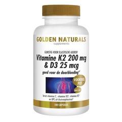 Vitamin K2 200 mcg & D3 25 mcg 180 vcaps