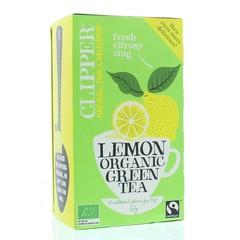 Clipper Grüner Tee Zitrone 20 Beutel