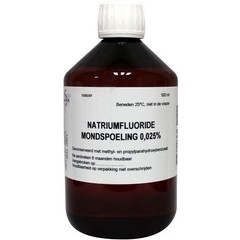 Natriumfluorid Mundwasser 0,025 500 ml