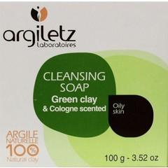 Ton Seife grün 100 Gramm