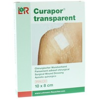 Curapor Curapor Transparente 10 x 8 cm sterile 5 Stück