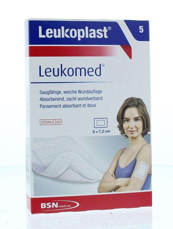Leukoplast Leukoplast Leukomed 7,2 x 5 cm 5 Stk