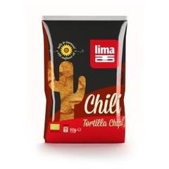 Tortilla Chips Chili Bio 90 Gramm