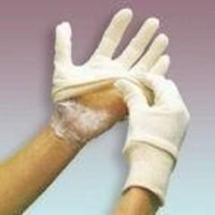 Kliniglove Verbandhandschuh mittlerer Größe 7 1 Paar