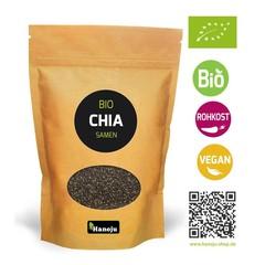 Bio Chia Samen Papiertüte 1 Kilogramm