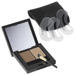 Augenbrauen Make-up Duo tiefblond 1 Stk